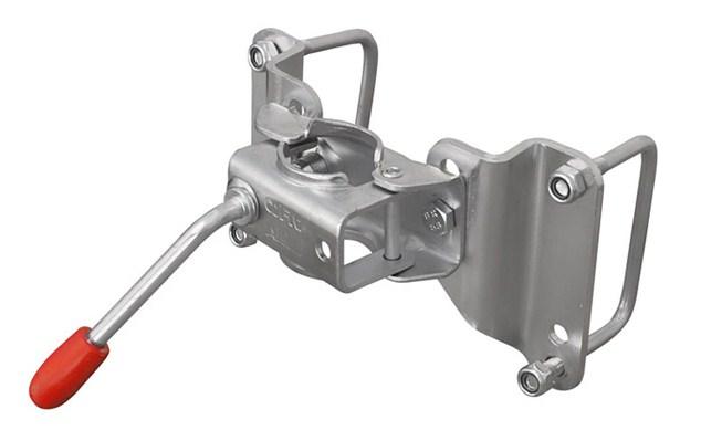 Хомут опорного колеса для лодочного прицепа МЗСА-4630030-01