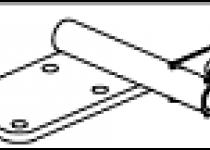 Кронштейн амортизатора 81771Е.001-07.05.330