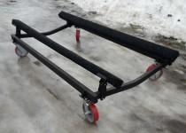 Тележка для хранения катера или гидроцикла в салоне