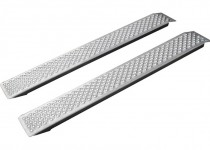 Аппарели КОМПАКТ (алюминиевые) арт. 130590 (в комплекте 2 шт.)