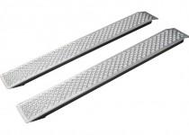 Аппарели КОМПАКТ (алюминиевые) арт. 130569 (в комплекте 2 шт.)