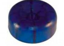 Пробка для нос. рол. L=30, D=73/14,5 мм, синяя