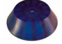 Пробка для кил. рол L=40, D=120/14 мм, синяя