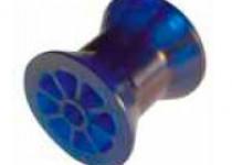 Ролик носовой L=74 мм, D=73/50/14.5 мм PVC синий