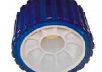 Ролик опорный L=75 мм, D=128/22 мм PVC синий