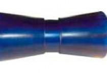Ролик килевой L=195 мм, D=89/61/17 мм PVC синий